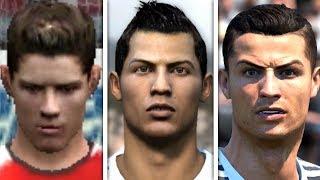 Cristiano Ronaldo evolution: FIFA 04 - FIFA 19