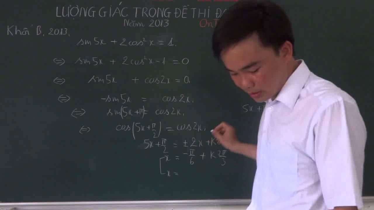 Phương trình lượng giác trong các đề thi Đại Học 2013 [http://zuni.vn/]