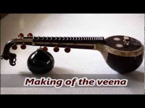 making of the divine veena
