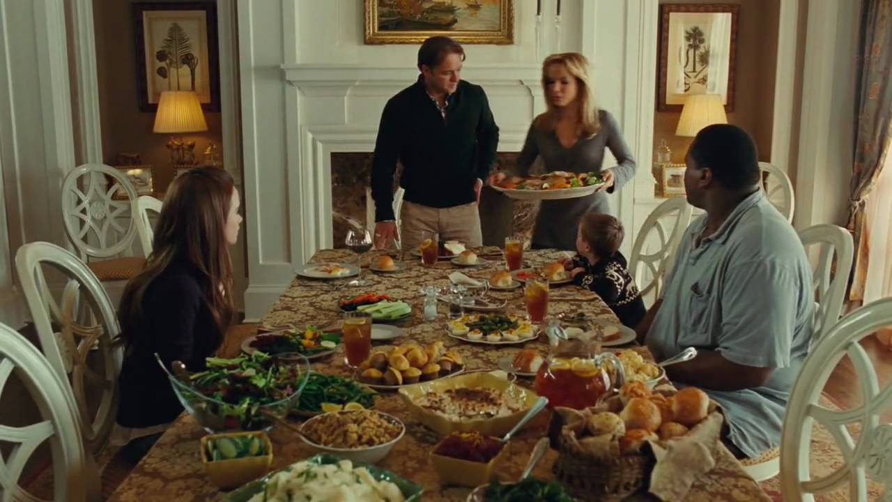 Image result for rocky thanksgiving scene