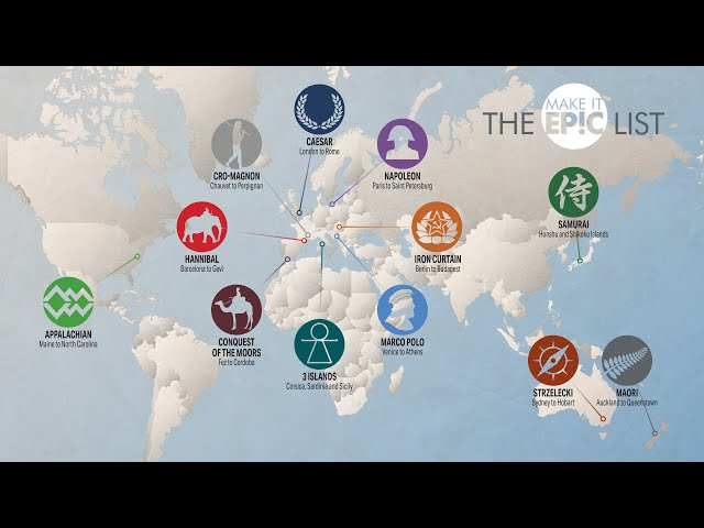The Epic List 2021 - Cycling Adventures Around the Globe