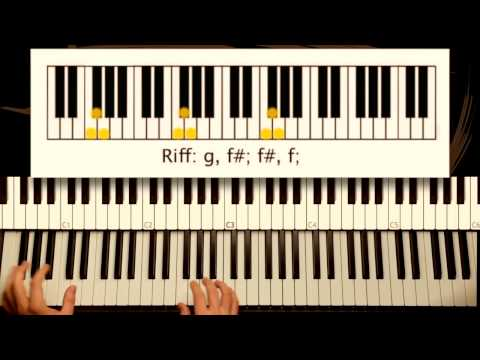 How to Play: Take Me To Church - Hozier. Original Piano Tutorial by Piano Couture.