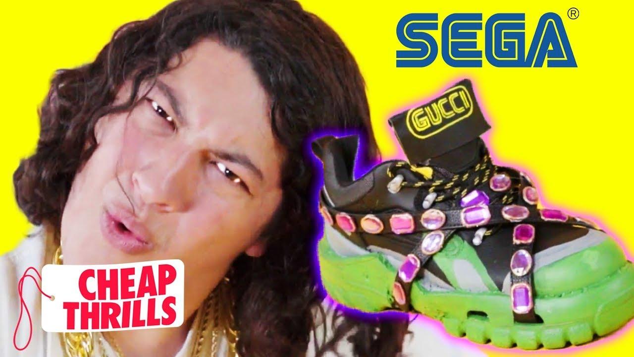 D.I.Y. Gucci x Sega Sneakers   Cheap Thrills