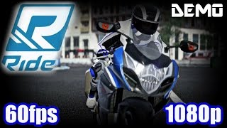 Ride Demo Gameplay - Motorcycle Simulation Racing PC Game of 2015 1080p 60fps Let