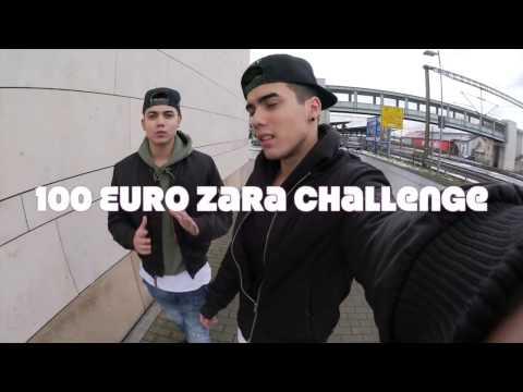 100€ ZARA CHALLENGE / XXL HAUL - VLOG
