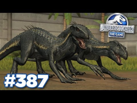 ANOTHER INDORAPTOR?!!! | Jurassic World - The Game - Ep387 HD