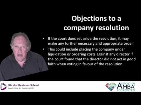 AN INTRODUCTION TO BUSINESS RESCUE PROCEEDINGS