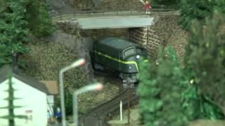 Модель железной дороги(В Германии, все чем то занимаются, очень много разных хобби и увлечений. Одно из них - железная дорога. Наверн..., 2014-11-16T17:29:45.000Z)