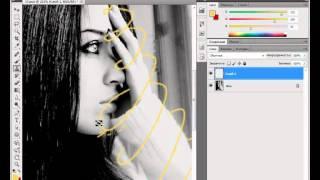 Видео урок №17 Photoshop.Абстрактные линии на фото