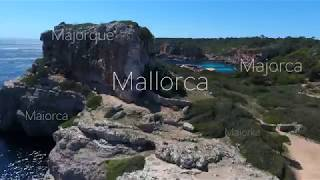 Mallorca 4K - 20 Most Beautiful Places - 2017 - DJI Phantom 4 Drone Aerial Footage
