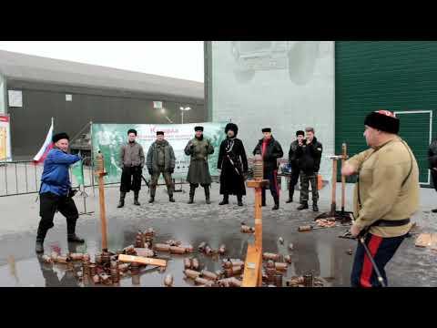 Тула в рамках Всероссийской акции памяти Подвига казаков на защите Москвы