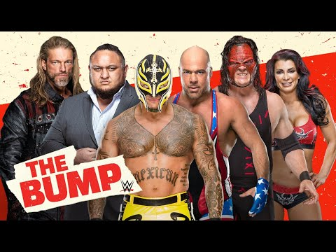 Rey Mysterio, Kurt Angle, Kane and Victoria gear up for WrestleMania: WWE's The Bump, March 24, 2021