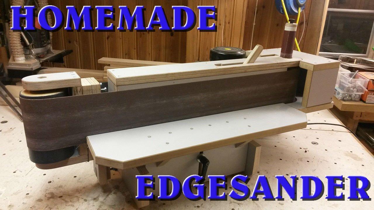 Homemade Edge Sander 2