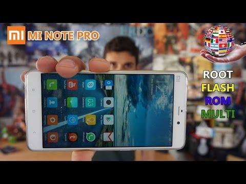 ROOT, FLASHEO y ROM Multilenguaje en tu Xiaomi Mi Note PRO [Tutorial]