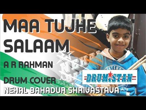 a.r.-rahman---maa-tujhe-salaam- -vande-mataram- -drum-cover