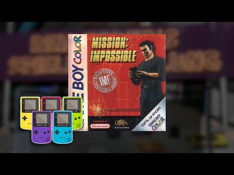 Gameplay : Mission Impossible [Gameboy Color]