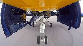 Blue Angels F-18 Reveals Surprise During Takeoff
