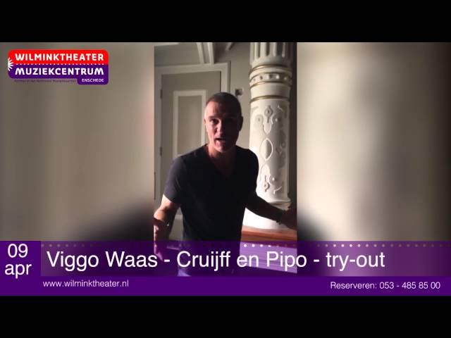 Cruijff en Pipo - try-out