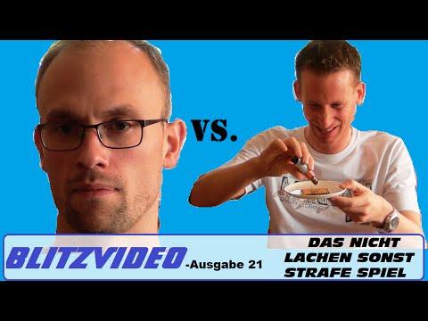 Blitzvideo Ausgabe 21 [Das Nicht Lachen Sonst Strafe Spiel] Vlog deutsch video blogger