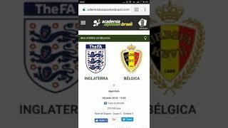 Inglaterra x Bélgica Análise e TIP Gratuita