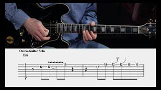 The Thrill Is Gone - BB King - Guitar lesson