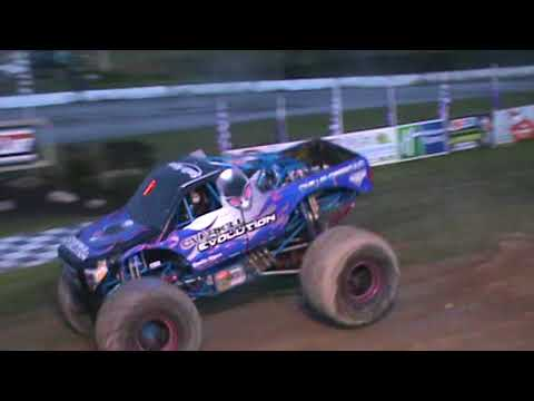 All American Monster Truck Tour - Overkill Evolution (Donut Competition)