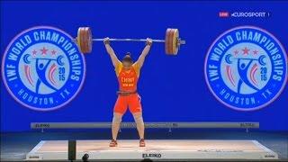 2015 World Weightlifting Championships. women 75kg \ Чемпионат мира женщины до 75кг