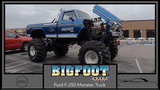 Big Foot 4X4X4 1974 Ford F 250 XLT Ranger|Walk Around Video