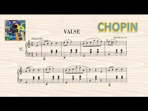 Fryderyk Chopin: Valse en la mineur Op. posthume - Riccardo Caramella, piano