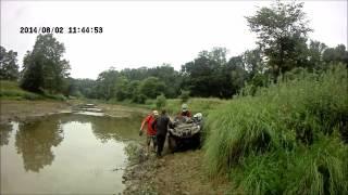 Квадроциклы Ярославль по берегу Волги до Тутаева. Выезд 02 08 2014