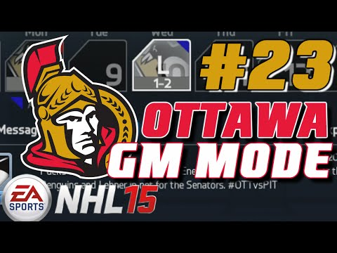 """NHL 15: GM Mode Commentary - Ottawa ep. 23 """"Up To The Draft"""""""