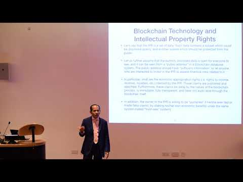 FARAD Cryptoken - Application of Smart Contract Talk by Dr. Wan M Hasni