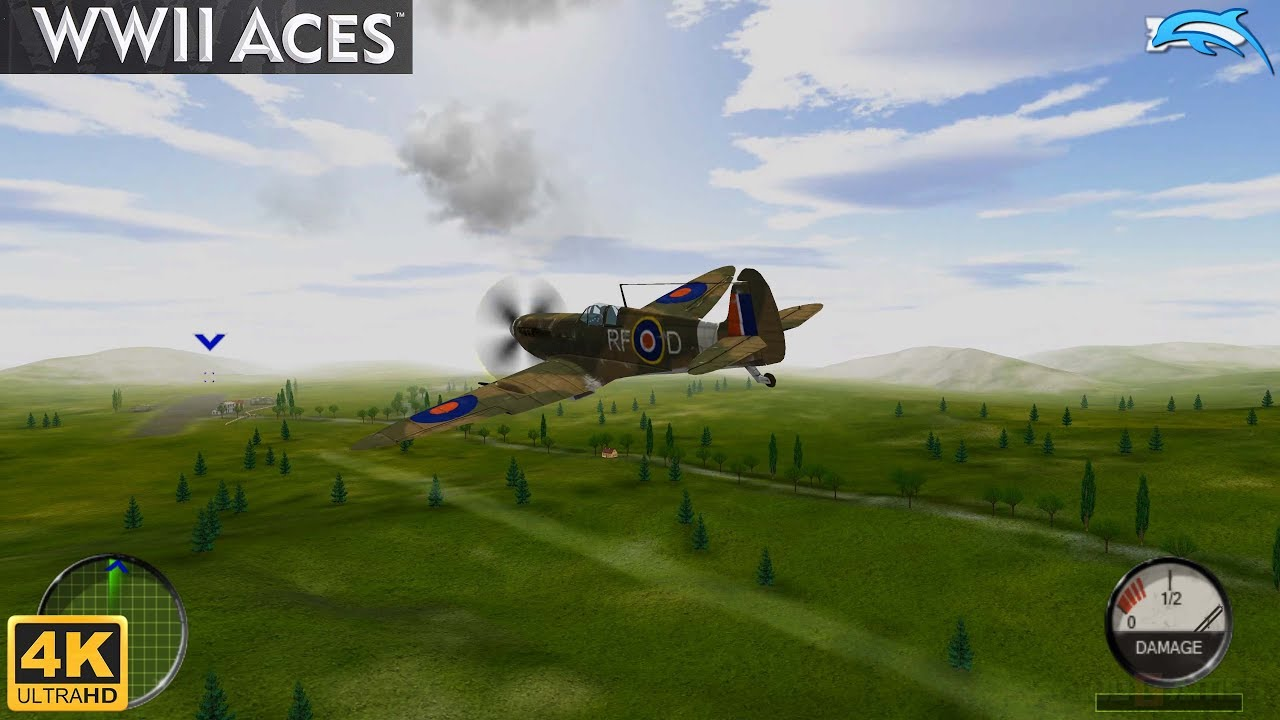 WWII Aces – Wii Gameplay 4k 2160p (DOLPHIN)