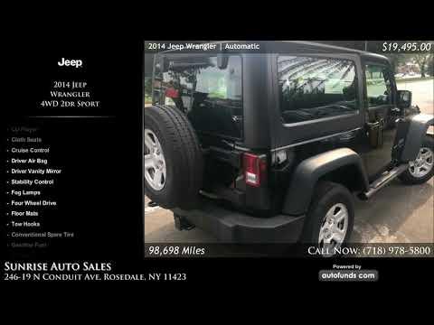 Used 2014 Jeep Wrangler | Sunrise Auto Sales, Rosedale, NY