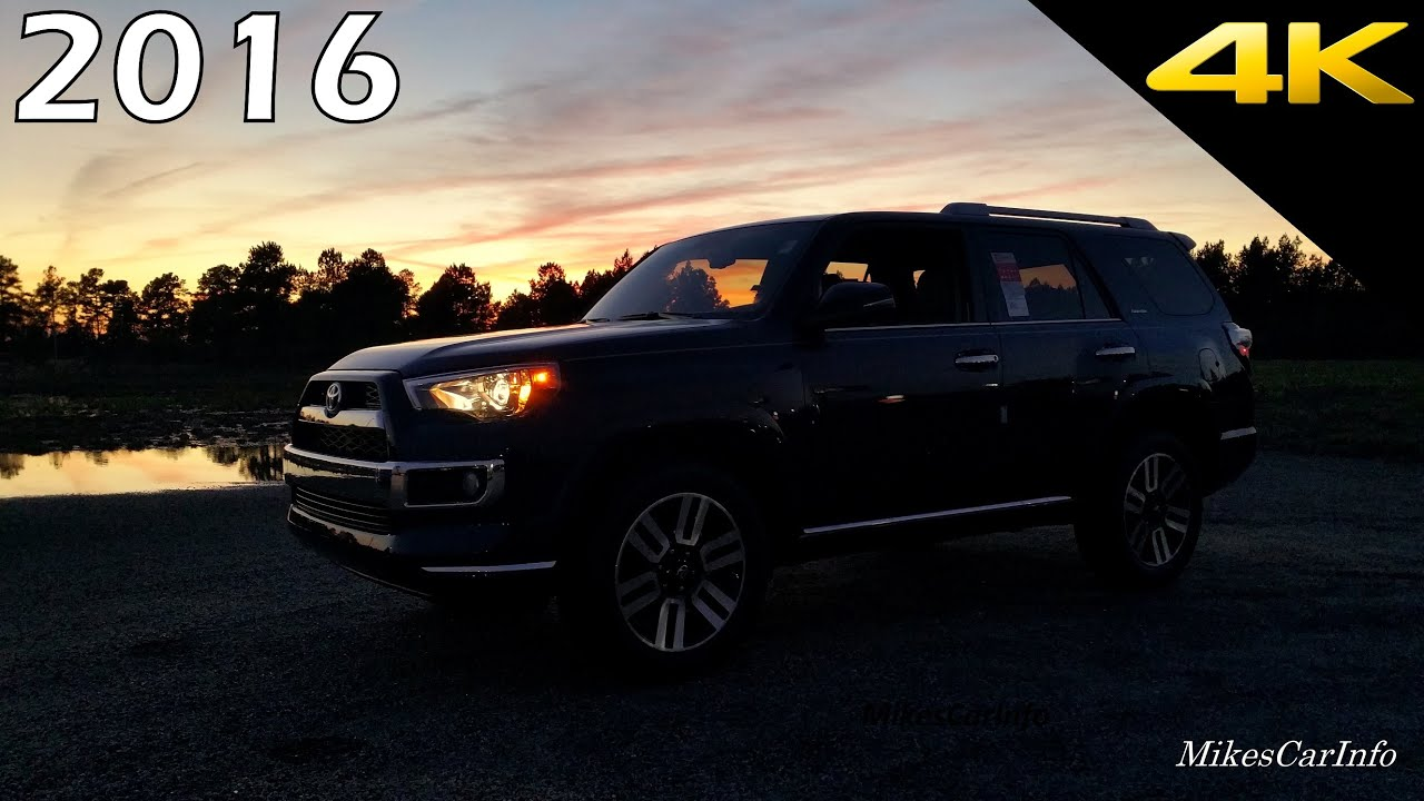 At Night 2016 Toyota 4runner Limited Interior And Exterior In 4k