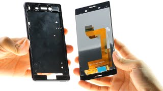 Sony Xperia M4 Aqua Broken LCD Repair Guide