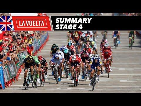 Summary - Stage 4 - La Vuelta 2017