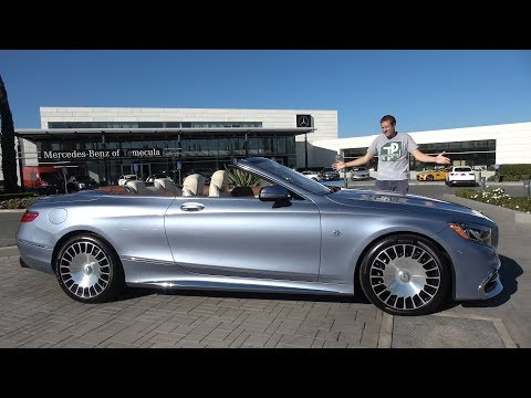 Mercedes-Maybach S650 Cabriolet - это самый крутой S-Class за $350 000