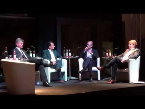Podiumsdiskussion mit Dr.Bernd Baumann AFD und Hetzer Ralf Stegner SPD