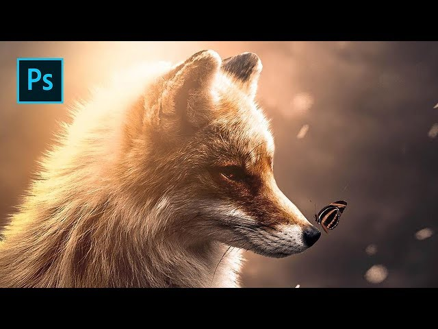 The Fox & Butterfly - Photoshop Manipulation Tutorial