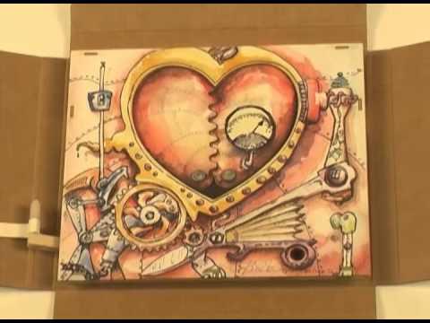 Steampunk Valentine Mechanical Greeting Card YouTube – Steampunk Birthday Card