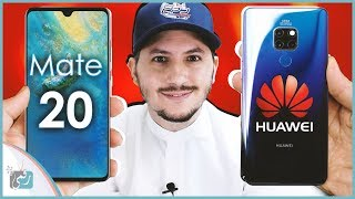 هواوي ميت 20 - Huawei Mate 20 | معاينة جديد الشركة لمنافسة النوت 9