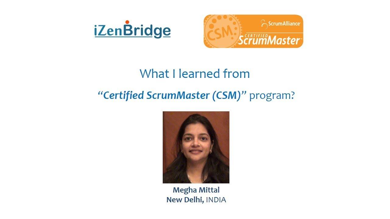 Scrum Master Certification - Lowest Cost, best Value CSM Training in