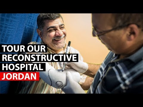 JORDAN | Take a tour of our reconstructive surgical hospital in Amman