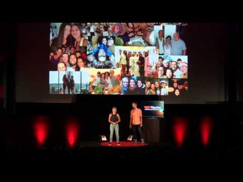 The compassionate wish that lead to happiness | Nirina Nirina et Rodolphe | TEDxRéunion