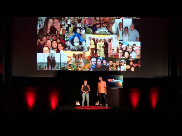 The compassionate wish that lead to happiness | Nirina Nirina et Rodolphe | TEDxRéunion
