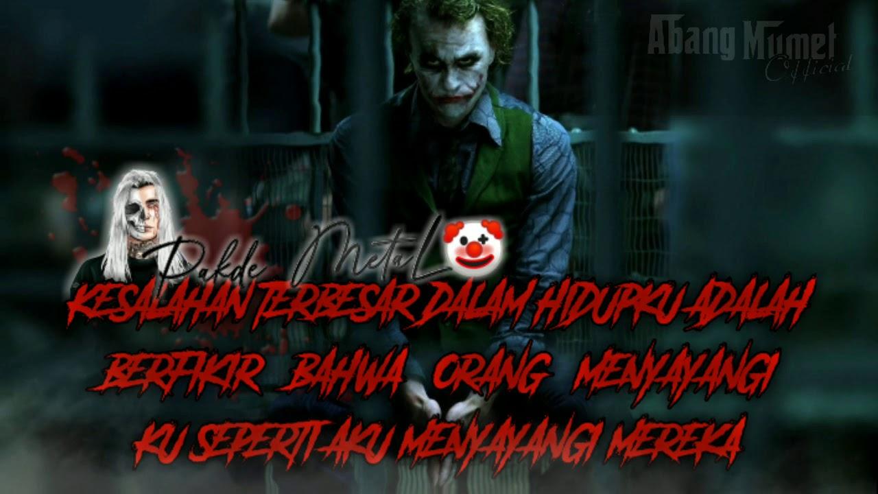 Status / story' wa kata-kata Joker - YouTube
