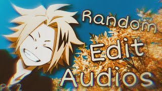 Edit audios I listen to on repeat | pt 2