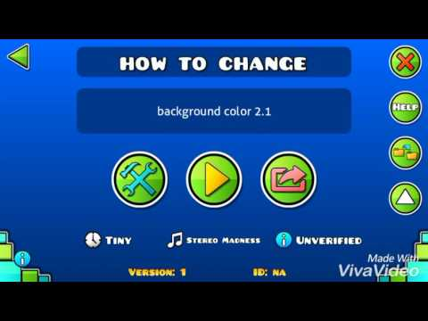 geometry dash how to change background color 2 1 youtube geometry dash how to change background color 2 1