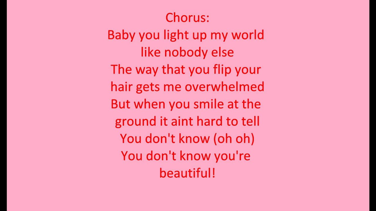 what makes you beautiful Watch the video for what makes you beautiful from one direction's up all night for free, and see the artwork, lyrics and similar artists.